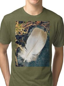 Feather From Heaven Tri-blend T-Shirt