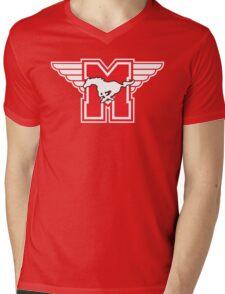 Hamilton Mustangs Mens V-Neck T-Shirt