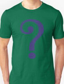 The Riddler  (Purple Question Mark) - Batman Unisex T-Shirt