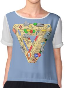 The Impossible Board Game Chiffon Top