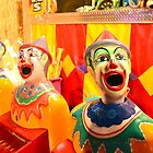 Hungry Clowns by Sascha Grant