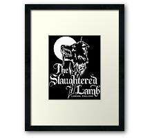 The Slaughtered Lamb Framed Print