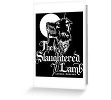 The Slaughtered Lamb Greeting Card