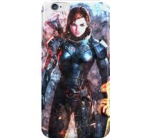 Mass Effect: Female Commander Shepard iPhone Case/Skin