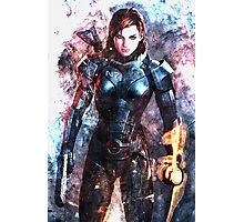 Mass Effect: Female Commander Shepard Photographic Print