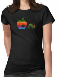 Very Hungry for Apple Womens Fitted T-Shirt