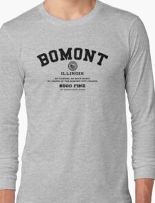 Bomont, IL No Dancing Ordinance Long Sleeve T-Shirt