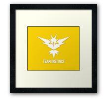 Team Instinct - Pokémon Go Framed Print
