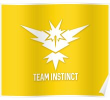 Team Instinct - Pokémon Go Poster