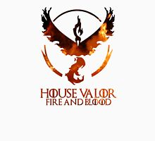 House Valor (GOT + Pokemon GO) Fire Unisex T-Shirt