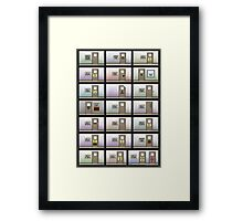 Evil Inc Doors Framed Print