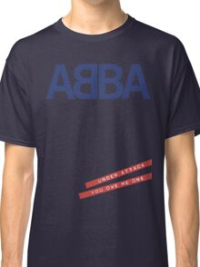 ABBA Under Attack Classic T-Shirt