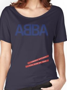 ABBA Under Attack Women's Relaxed Fit T-Shirt