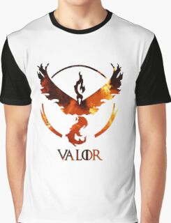 Valor Pokemon GO (Flames) Graphic T-Shirt