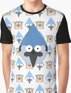 Mordecai Graphic T-Shirt