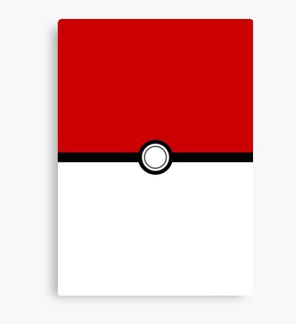 POKEMON POKEBALL - POKEMON GO Canvas Print