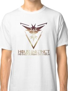 House Instinct  (GOT + Pokemon GO) Storm Classic T-Shirt