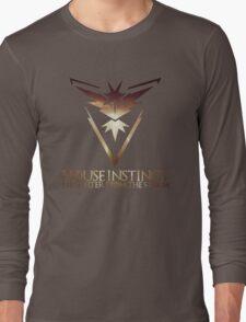 House Instinct  (GOT + Pokemon GO) Storm Long Sleeve T-Shirt