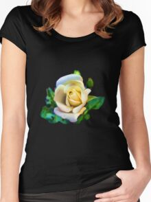 A rose is a rose  Women's Fitted Scoop T-Shirt