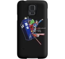 Heroes in the Tardis Samsung Galaxy Case/Skin
