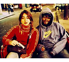 Rickshaw Passenger #2 (Soho, London) Photographic Print