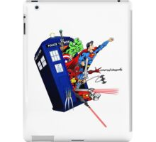 Heroes in the Tardis iPad Case/Skin