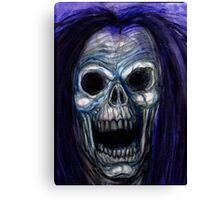 SKULL SCREAM Canvas Print
