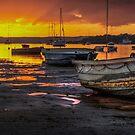 Sunrise over Straddie by Karen Duffy