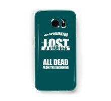 lost ( the spoilerator)   Samsung Galaxy Case/Skin