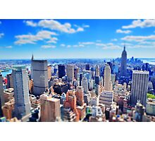 New York City miniature Photographic Print