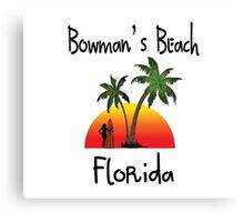 Bowman's Beach Florida Canvas Print
