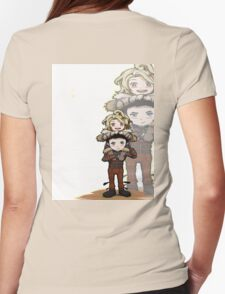 chibi hiccup Womens Fitted T-Shirt