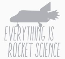 Everything is ROCKET SCIENCE! by jazzydevil