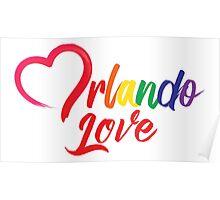 Heart Orlando Love Poster
