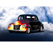 1940 Ford Deluxe Coupe Photographic Print
