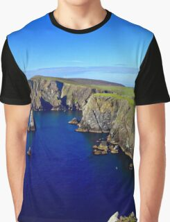 Fair Isle Shetland Scotland UK Graphic T-Shirt