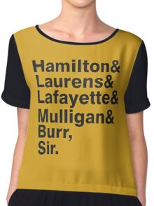 The Hamilton Crew Chiffon Top
