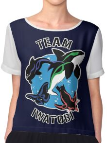 Team Iwatobi Variant Chiffon Top