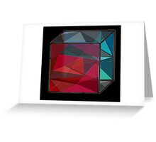 Glass Cube Greeting Card