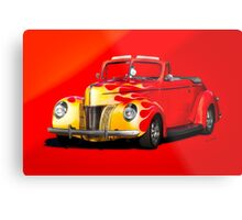 1940 Ford Deluxe Convertible Metal Print