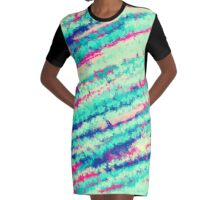 Digital texture 5 Graphic T-Shirt Dress