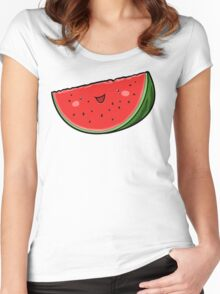 Watermelon Women's Fitted Scoop T-Shirt