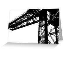 Finnieston Crane Greeting Card