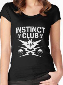 Instinct Club Women's Fitted Scoop T-Shirt