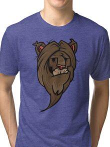 Grumpy lion Tri-blend T-Shirt