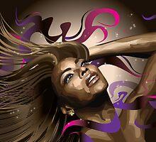 Beyonce by MsShyne