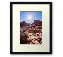 Valley of Fire State Park, Nevada Framed Print