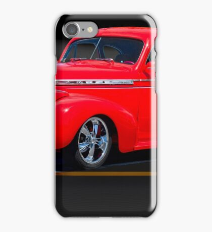 1941 Chevrolet 'Winners Circle' Coupe iPhone Case/Skin