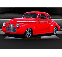 1941 Chevrolet 'Winners Circle' Coupe Photographic Print