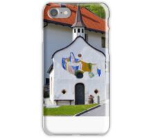 Small chapel in Telfs, Tyrol, Austria iPhone Case/Skin